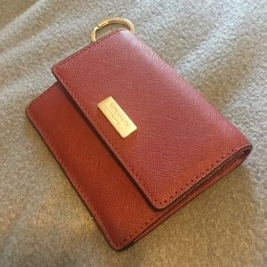 Kate Spade Petty Way Wallet Burgundy
